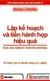 Lập kế hoạch và tiến hành họp hiệu quả