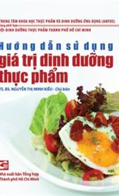 Hướng dẫn sử dụng giá trị dinh dưỡng thực phẩm
