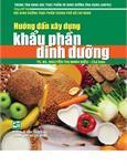 Hướng dẫn xây dựng khẩu phần dinh dưỡng