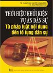 Thời hiệu khởi kiện vụ án dân sự - Từ pháp luật nội dung đến tố tụng dân sự