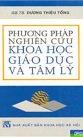Phương pháp nghiên cứu khoa học Giáo dục và Tâm lý