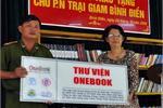 Tặng thư viện cho trại giam Bình Điền